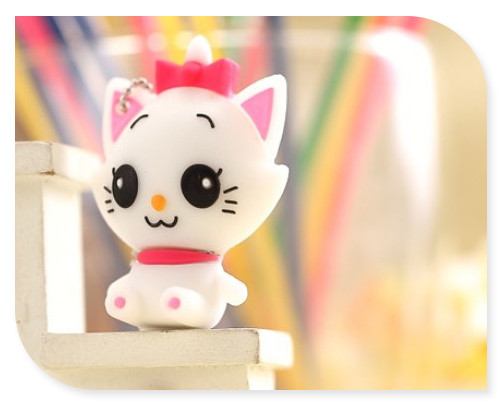 Lovely cat usb flash drive 64GB 32GB 16GB 8GB 4GB usb flash drives thumb pendrive u disk usb creativo memory stick S104