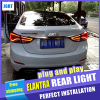 A T Car Styling For Hyundai Elantra Taillights Korea Design New Elantra MD Tail Light Rear
