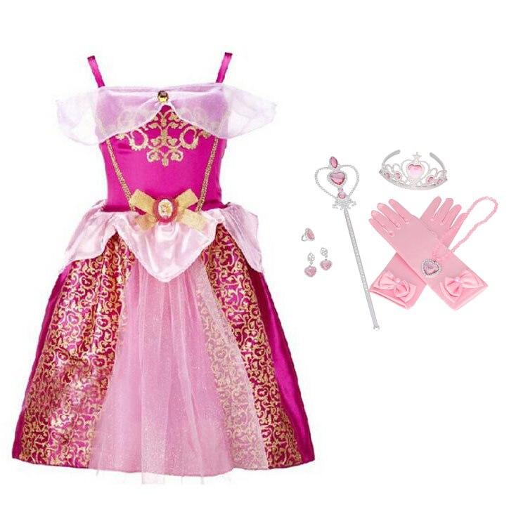 Queen Elsa Party   Dress   Christmas Anna   Dress     Flower     Girl     Dresses   Prom   Dresses   Vestidos Kids Clothes