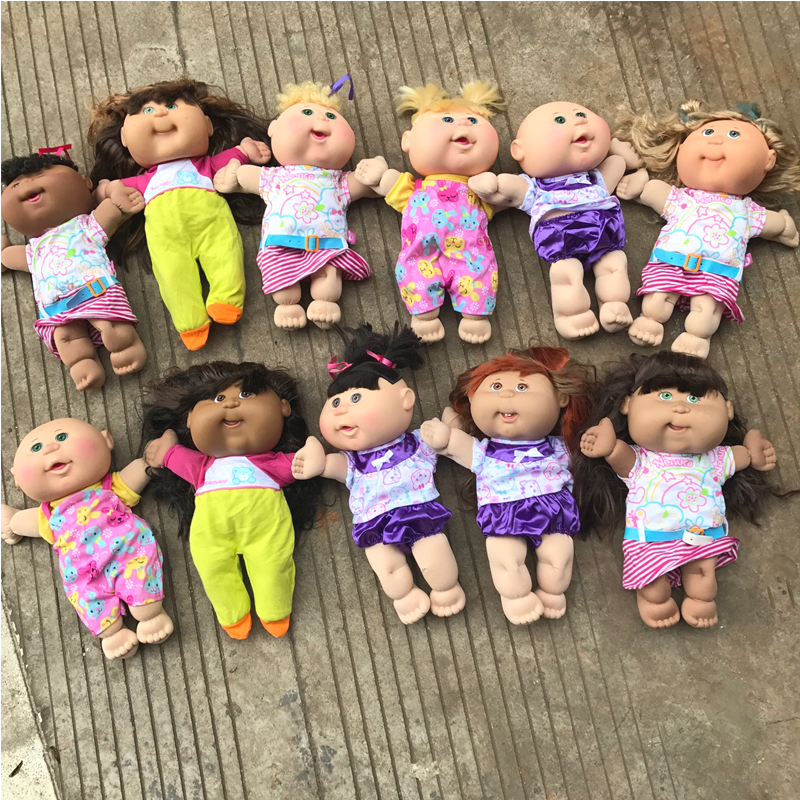 D0124 Hot Sale New Year Children Girl Birthday Gift 30cm Cabbage Patch Toys Kids Dolls Random Type 1pcs