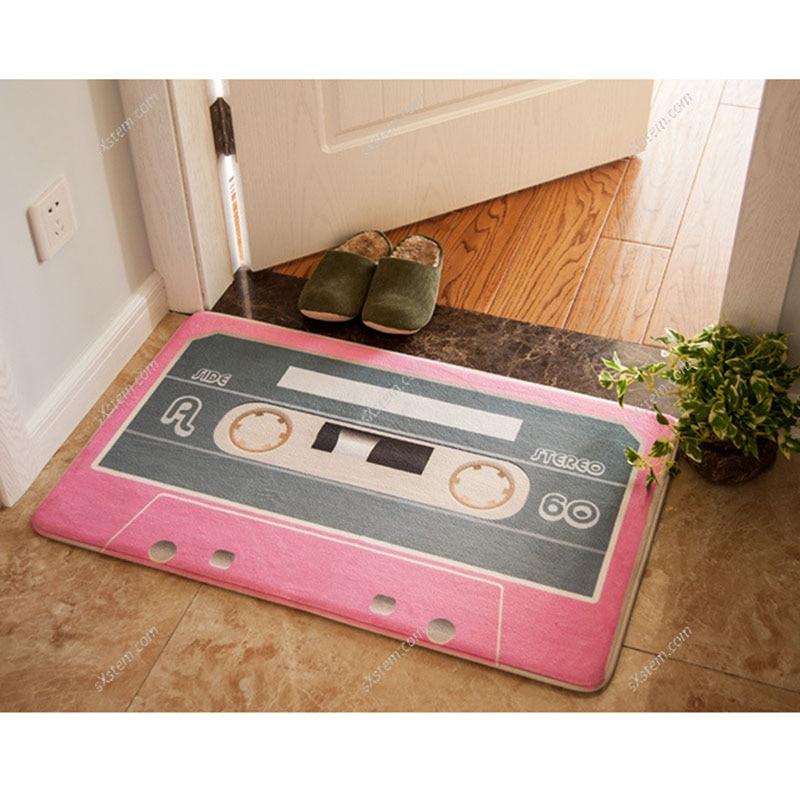 Yazi 9 Farben Lustige Magnetische Band Fußmatte Willkommen Boden Matte Für Outdoor Eingang Schlafzimmer Niedlichen Tür Matten Küche Teppiche
