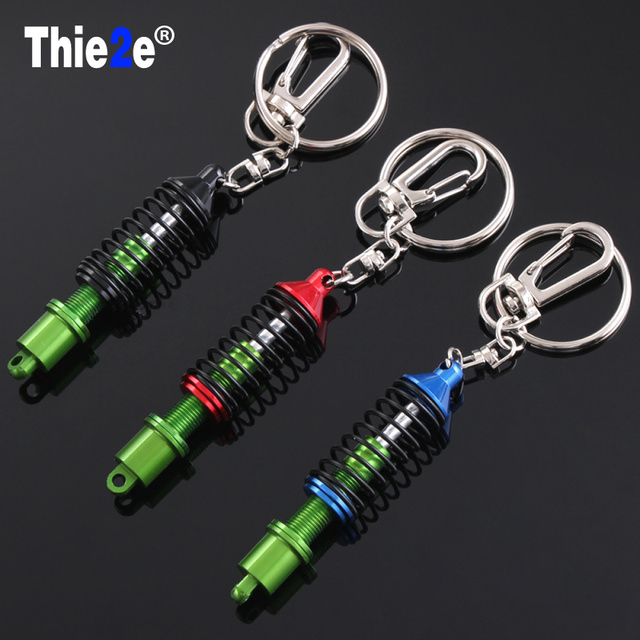 New Metal Turbo Tuning TEIN Damper Shock Adjustable Coilover Keyring for Volkswagen  VW Tiguan Passat B5 B6 b7 Polo 16260b1727df