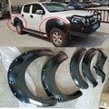 Guardabarros fender flares rueda cubre ajuste para isuzu d-max dmax 2012 2013 2014 2015