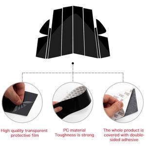 Image 2 - 10PC Window Pillar Posts trim Cover Molding for Mazda 6 Atenza 2014 2018 Middle BC Column Sticker for MAZDA 6 Strip