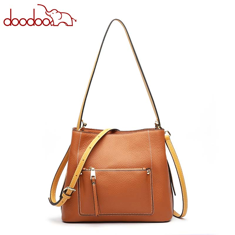 Leather handbag 2018 new European and American fashion leather bag hand strap shoulder Messenger bag female messenger bag lingge chain shoulder bag 2016 new european and american fashion pu leather wm0079
