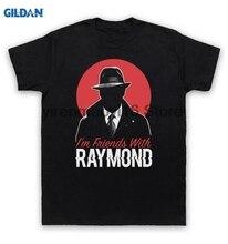 GILDAN 100% cotton O-neck printed T-shirt Blacklist T Shirt I