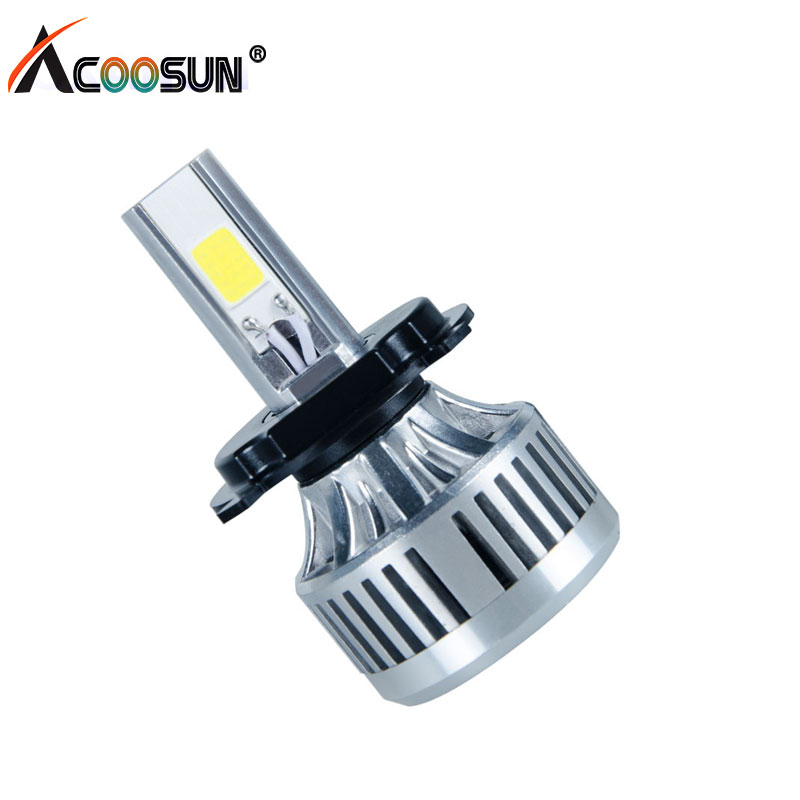 acoosun h4 led motorcycle phare de 6000k 3000lm hs1 led. Black Bedroom Furniture Sets. Home Design Ideas