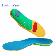 Buy SpringYard EVA+TPR Orthopedic Insoles Flat Foot Arch Support Orthotics Shoes Pad Sport Shock-Absorption Cushion Woman Men directly from merchant!