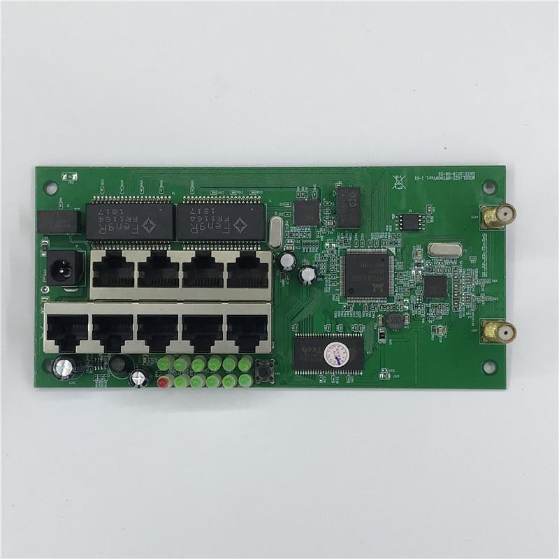 Thuis-Kit Router Breedband 9 Custom Metalen-Shell Moederbord-Module Draadloze Gat Snelle