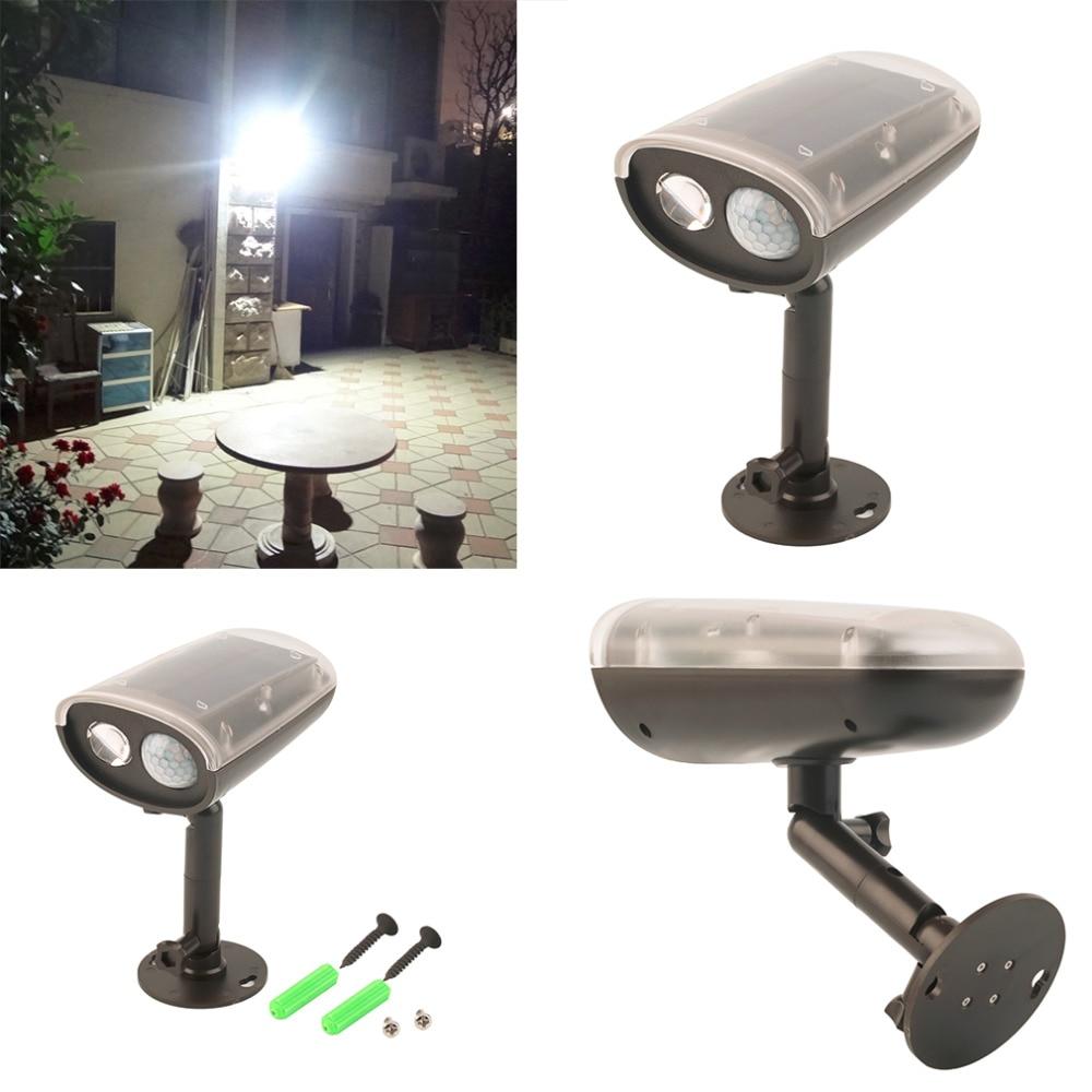 2017 3 W LED Lumière-contrôle Solaire PIR Motion Sensor Extérieure Spot Projecteur De Sécurité