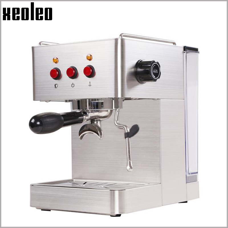 Xeoleo Espresso Coffee Maker 15bar Machine 1 7l Water Tank Full Automatic Stainless Steel In Makers From Home