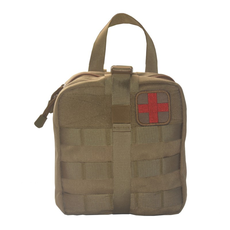 Outdoor Military Tactical Life Bag Tactical First Aid MOLLE EMT Rip-Away Medical Utility Rescue Multifunctional Tool Pouch
