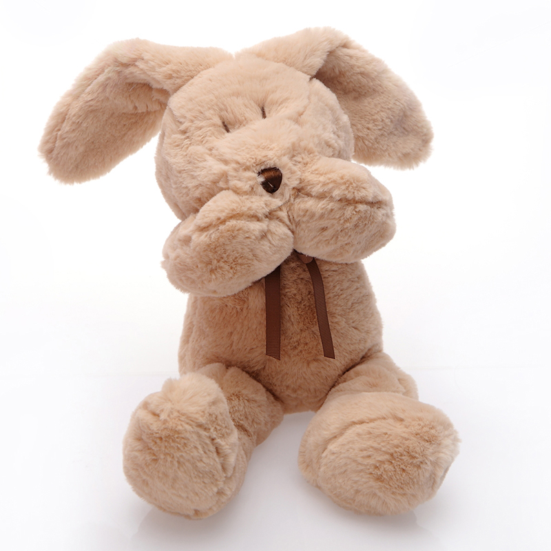 Cute Rabbit Plush Toy Stuffed Baby Doll Super Soft Bunny Doll  High Quality Kids Toys Best Gift For Children Free Shipping