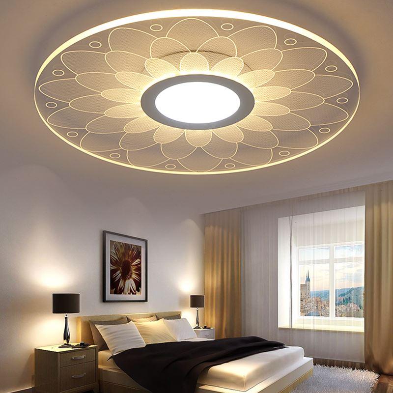 Moderne plafond LED Bloem Plafondverlichting Mooie