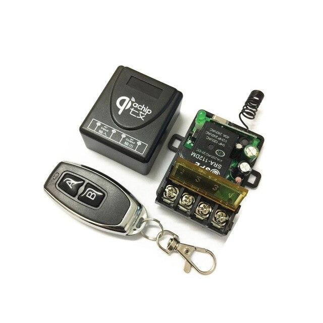 433 мГц Универсальный Беспроводной RF дистанционное управление переключатель AC 220 В в 1CH 30A релейный ресивер и 2 канала мГц 433 для водяной насос
