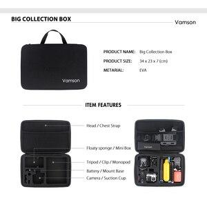 Image 5 - Vamson for Gopro Hero 7 6 5 Accessories Kit Waterproof Housing Case Frame Floaty Bobber Monopod for Go pro Hero 6 5 Camera VS142