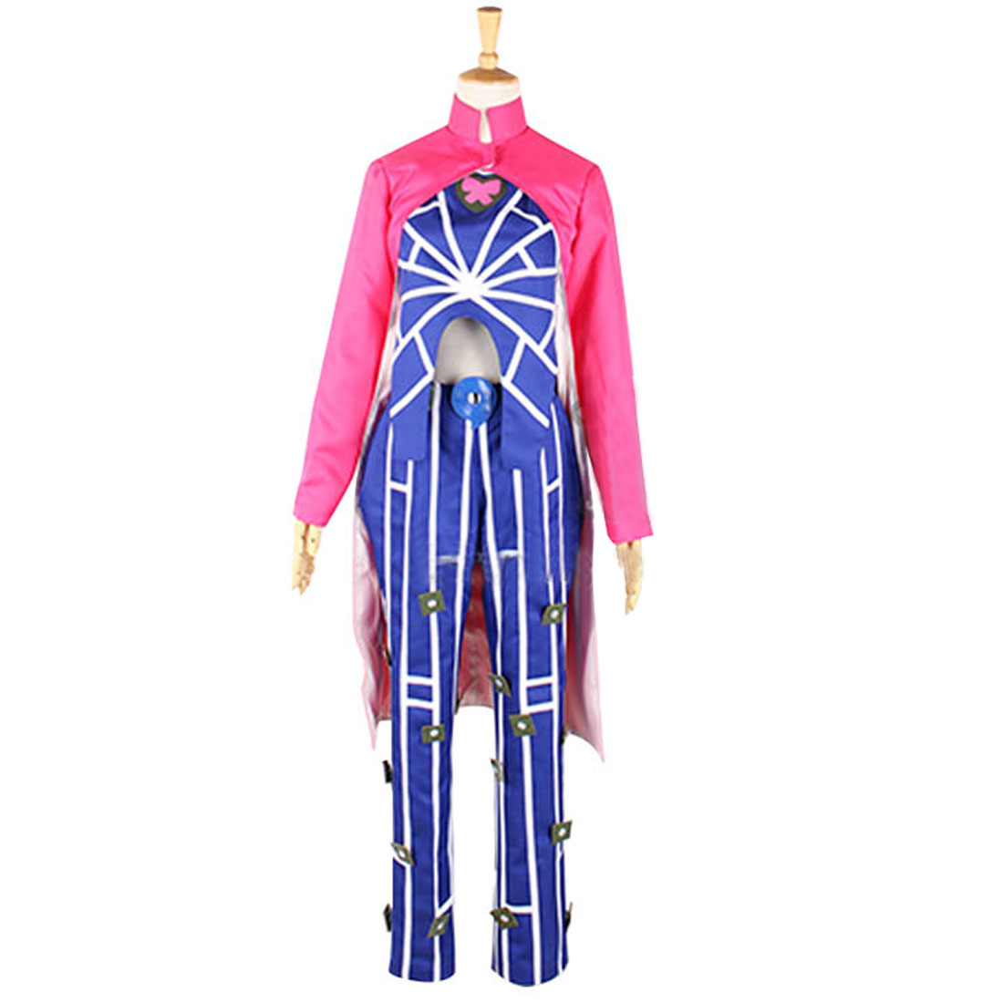 2019 JoJo's Bizarre Adventure Jolyne Kujo Cosplay Jolyne Cujoh Cosplay Costume Two Styles For Choosing