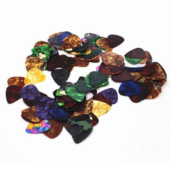 10/20 Pcs New Acoustic Picks Plectrum Celluloid Electric Smooth Guitar Pick Accessories 0.46mm 0.71mm 0.96mm YS-BUY
