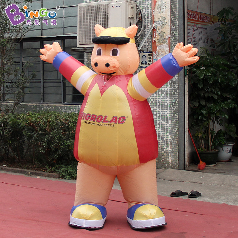 inflatable walking pig costume for parade inflatable toy