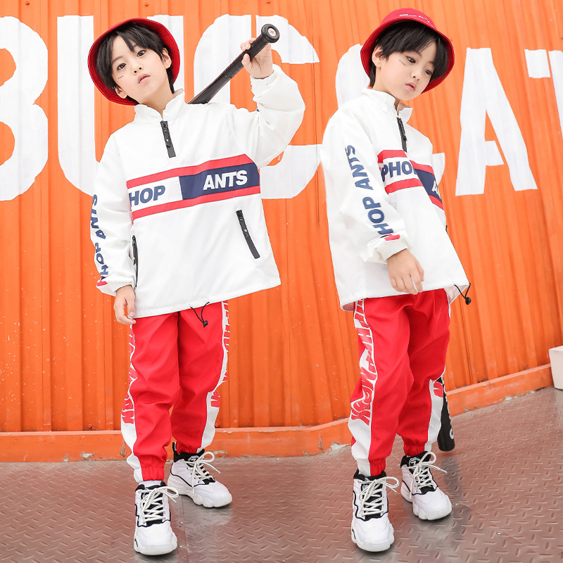 Spring Autumn Teenage Clothes For Boys Kids Hip Hop Dance Costumes Top And Sweatpants Sport Set 8 9 10 11 12 13 14 YearsSpring Autumn Teenage Clothes For Boys Kids Hip Hop Dance Costumes Top And Sweatpants Sport Set 8 9 10 11 12 13 14 Years