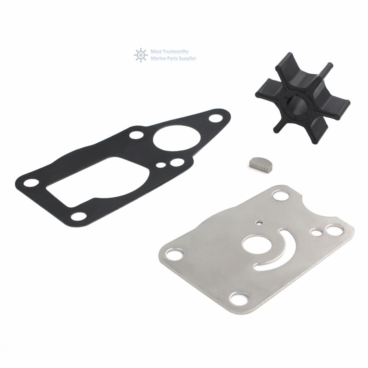 New Water Pump Impeller Service Kit For Suzuki DF4 DF6 17400-98661 18-3266