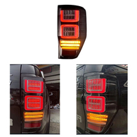 HIGH QUALITY REAR LED TAIL LAMP REAR LIGHTS TURN SIGNAL BRAKE LIGHTS FIT FOR FORD RANGER T6 T7 2012 2017 PICKUP CAR