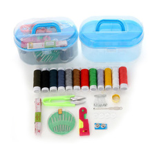 Multifunctional sewing kit Sewing box 10 pieces/sets Home tools Hand stitch DIY Needle thread scissor Tools for Travel