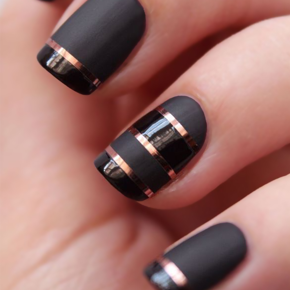 Nail Art Ideas Nail Art With Striping Tape Pictures Of Nail Art