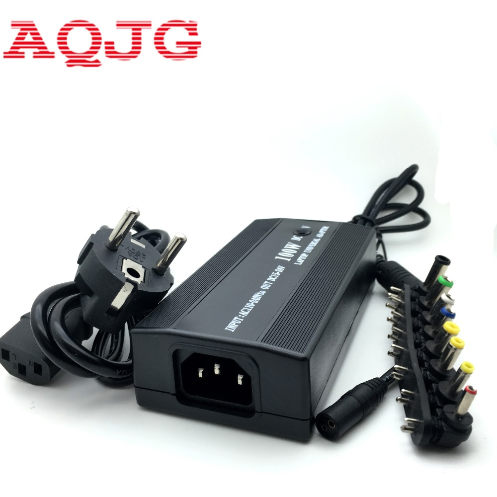Universal Laptop Notebook Power Adapter Charger 12-24V 4.5A 100W for Acer ASUS DELL Thinkpad Lenovo Sony Toshiba Samsung Laptop 37pcs universal laptop ac dc jack power supply adapter connector plug for hp ibm dell apple lenovo acer toshiba notebook cable