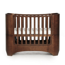 Get more info on the 2019 Multifunctional baby growth bed high-grade original solid wood art crib fashion curved wood K9
