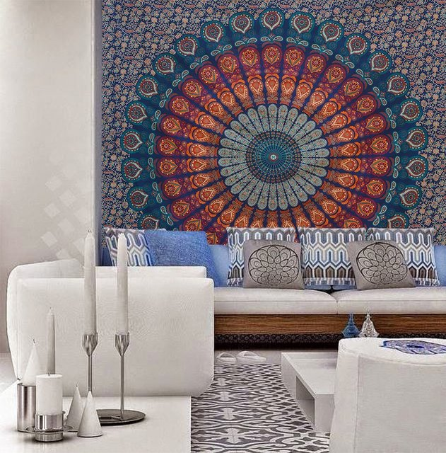 Wall Sheet Decor Indian Elephant Mandala Tapestry Hippie Wall Hanging Tapestries On Interior Decor Trends For That Will Make You Go W