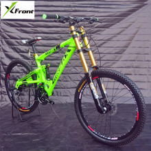 New Brand Downhill Mountain Bike Aluminum Alloy Frame Oil Disc Brake Soft Tail Bicicleta Outdoor Sports