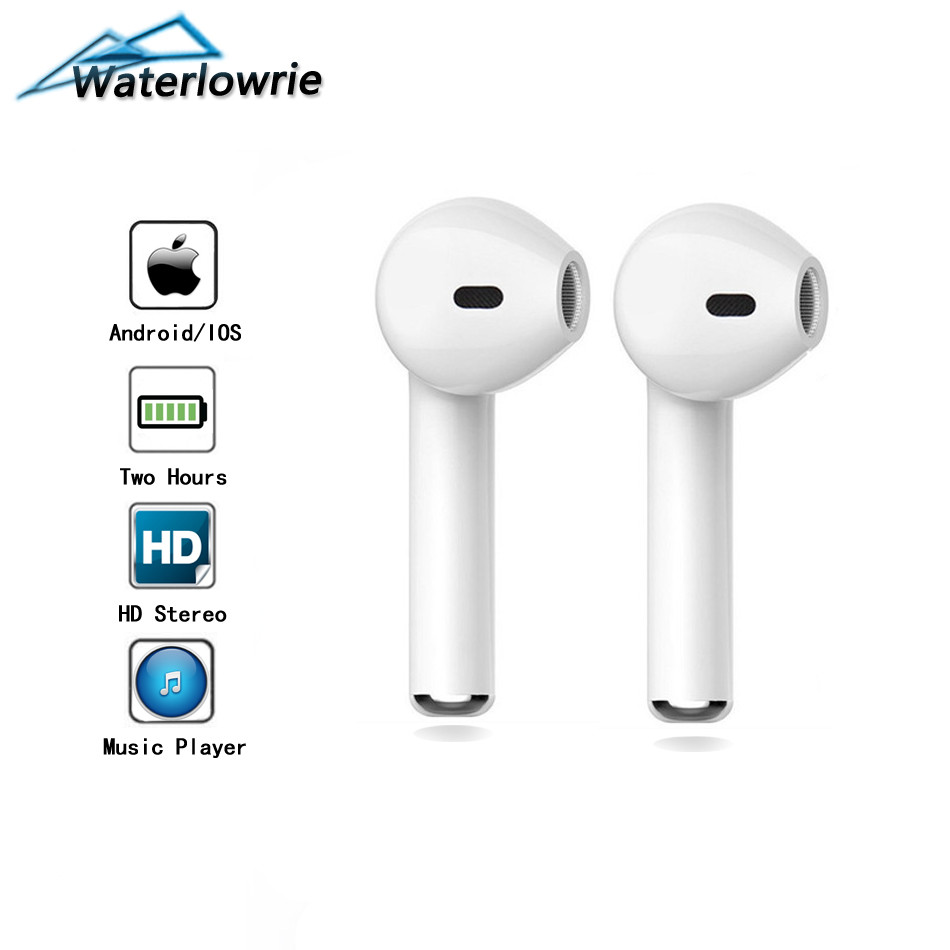 I7 Mini Bluetooth Earphone In-Ear HD Stereo Wireless Headset With MIC For Samsung Huawei Xiaomi & iPhone Accessories
