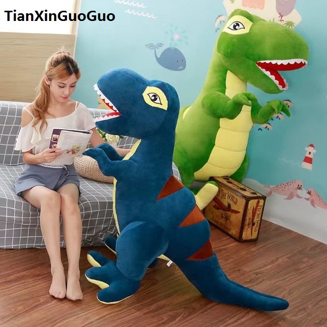lovely cartoon Tyrannosaurus dinosaur huge 150cm plush toy soft doll hugging pillow toy birthday gift s0232