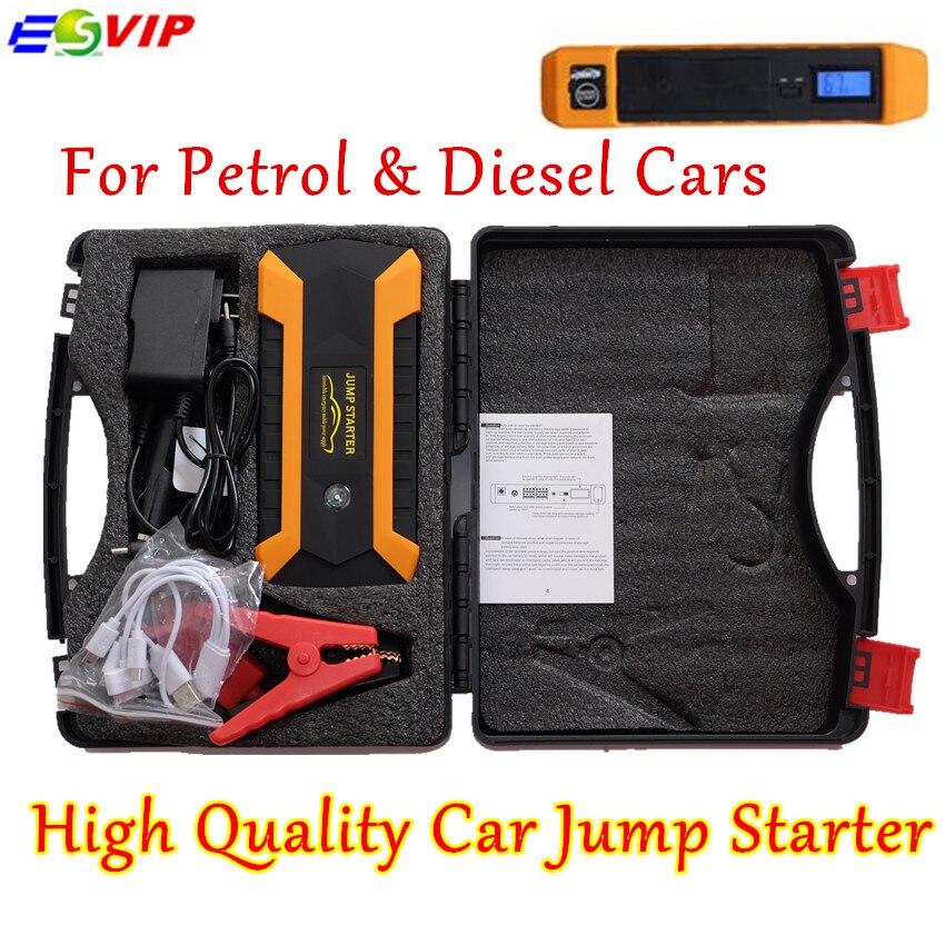 Nouveauté Portable Portable Booster batterie chargeur téléphone Portable Mini voiture saut démarreur 12 V batterie externe