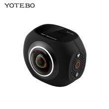360 Камера панорамный VR Мини Ручной Fisheye Двойной объектив Камера Wi-Fi ВИДЕО Action Sports Камера виртуальной реальности для Android/IOS