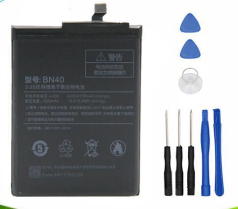 Jinsuli BN40 Batterie Pour Xiaomi Redmi 4 Pro Premier 3g RAM 32g ROM Édition Redrice 4 Hongmi 4 bateria Accumulateur + outil