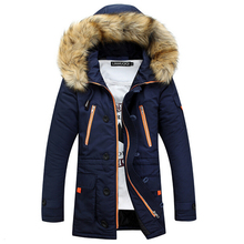 Patchwork Mens Padded Coat Fashion Baseball Jacket Winter Jacket Men Slim Jaqueta Masculina Warm Wadded Packable Sportswear 3XL