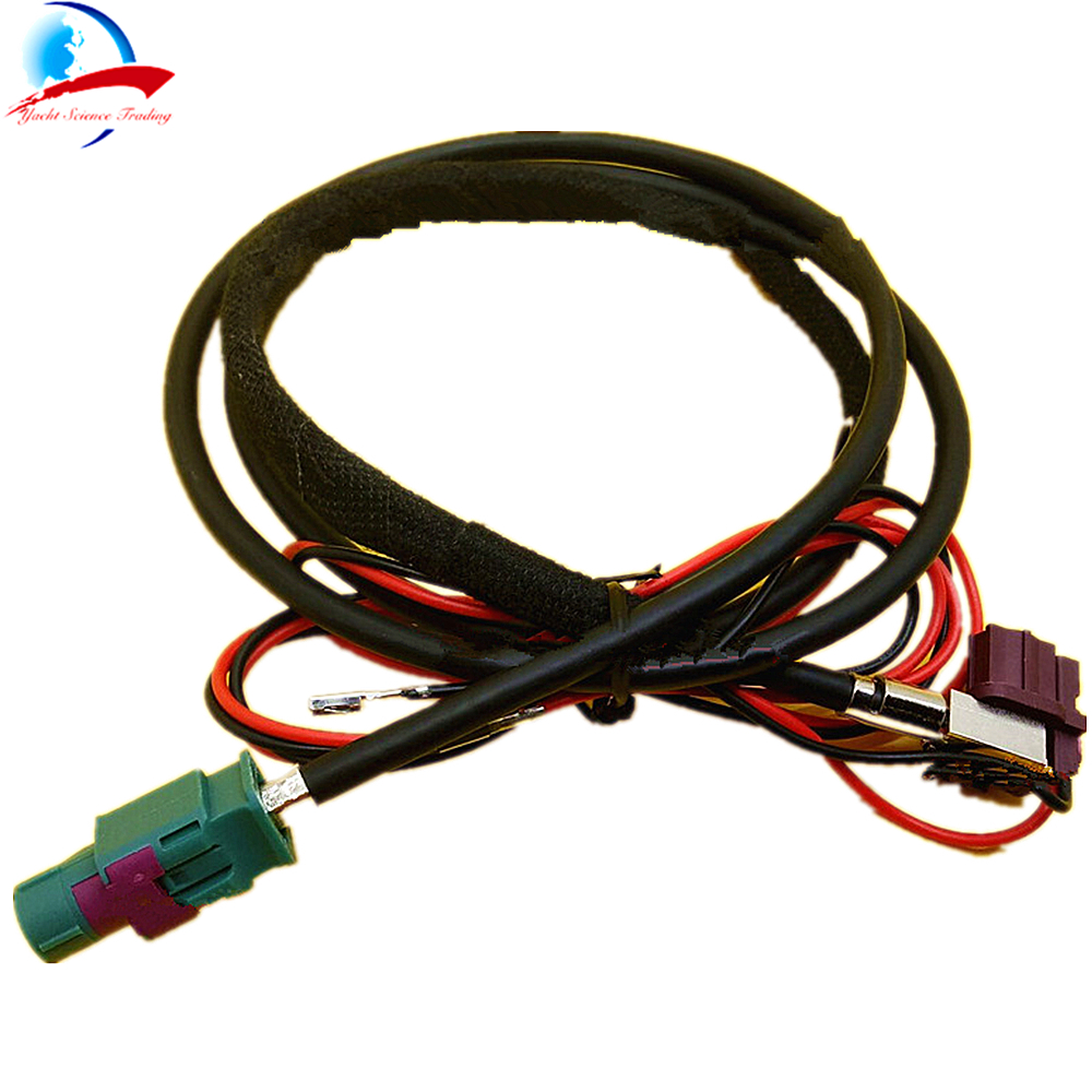 1pcs Car HUD LVDS Video Line Head Up Display connection cable for BMW