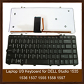 Original Laptop keyboard for DELL Studio 1535 1536 1537 1555 1558 1557 Black US Keyboard With Backlight Fully Test