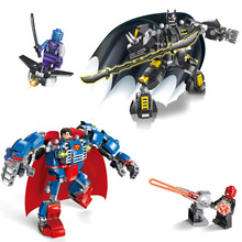 Batman VS Superman Legoelied DC Marvel Avengers Super Heroes Dawn Of Justice Minifigures Building Blocks Bricks Set Toy Gift