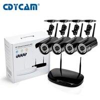 1 0mp Hi3518E Wifi Ip Camera Kit Cctv Camera Kit ONVIF HD 720P 4CH Wireless NVR