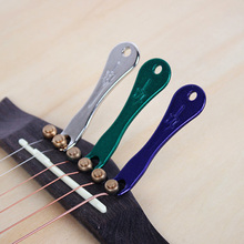 Acoustic Guitar String Bridge Pin Puller Stainless Steel Remover Luthier Tool Accessories Replace