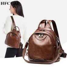 купить HFCCJJ NEW Black School bags For Teenagers Girls Female Backpack Women Travel Backpack Mochila Feminina sac a dos HC050 дешево