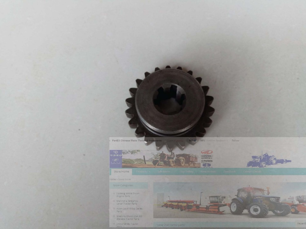 Shandong Taishan KM454 tractor parts, the sliding gear, part number: 324.21.111 taishan kama tractor parts the set of gasket kit for km804 with engine km804 part number 226b