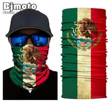 Mexico Germany Skull funny Tube Neck Cap Sun Shield Gaiter Headband Bandana Face Mask Protective Balaclava