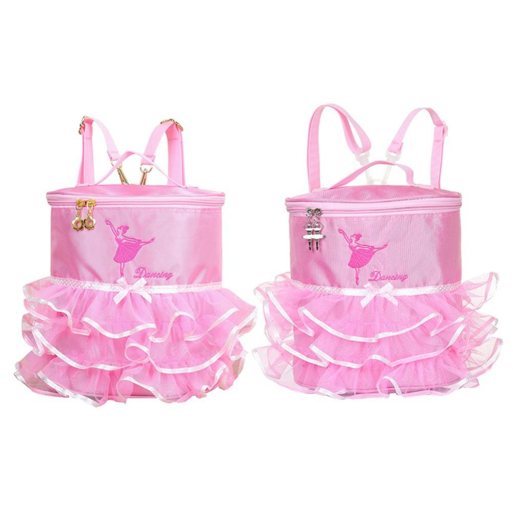 Ballerina Ballet Tutu Barbie Dress Dance Bag Backpack Handy Pouch School For Children Girls Cute Student Kids Backpack Bags Kid цена