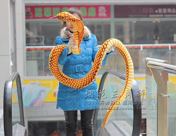 все цены на simulation animal 250cm snake doll plush toy funny toy birthday gift w8935