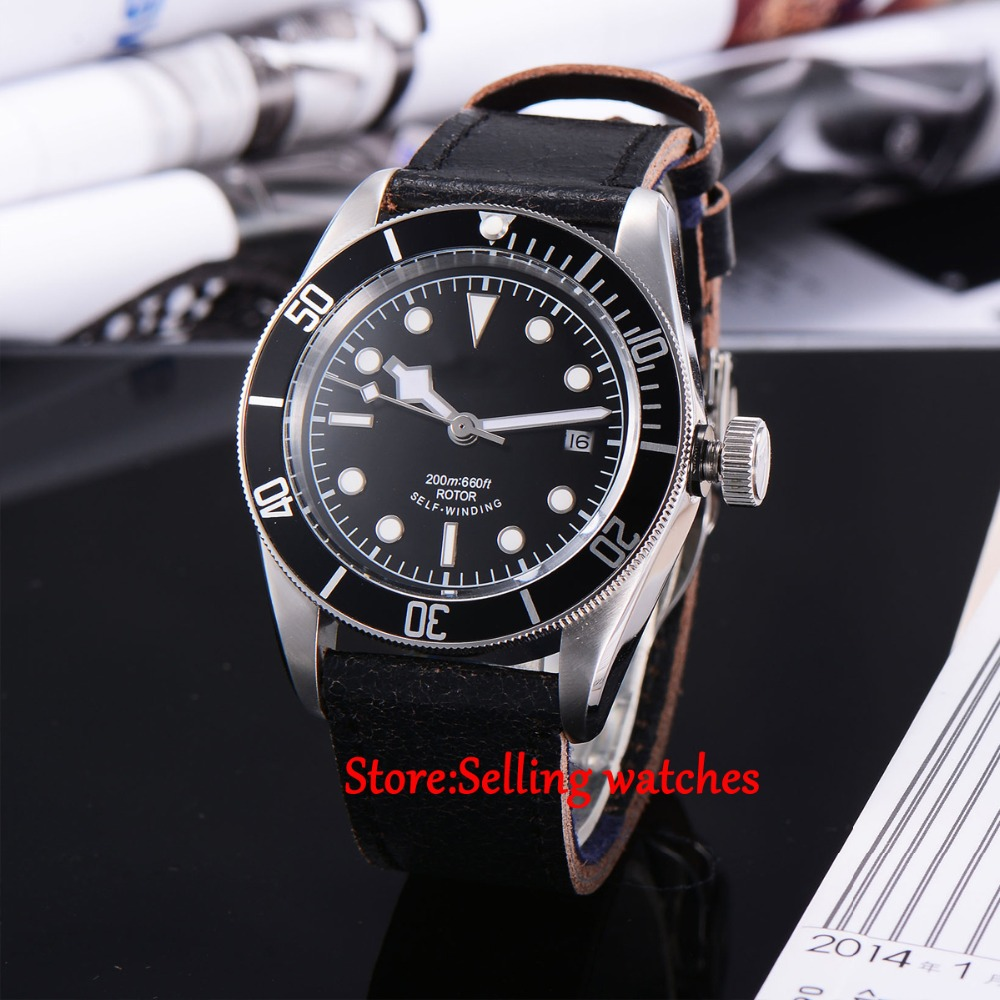 41mm corgeut black dial Sapphire Glass miyota Automatic movement mens Watch C04 41mm corgeut black dial sapphire glass miyota automatic movement mens watch c03