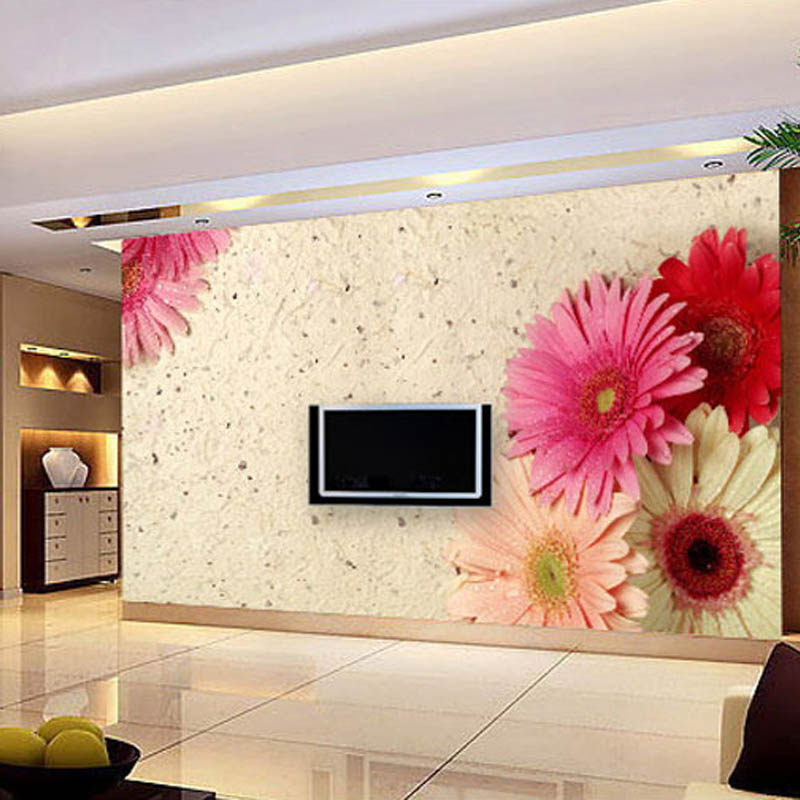new large art wall stickers rustic console wallpaper tv background wall covering wall painting mural 3d custom fabric wall paper - Painted Tv Consoles